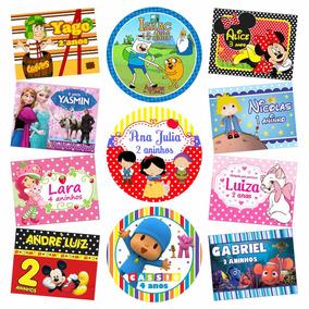 Rótulos Adesivos Personalizados Festa Infantil Lembrancinha