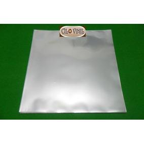 50 Plásticos P/ Capas De Lp Disco Vinil - 0,20 Extra Grosso