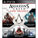 Assassins Creed Ezio Trilogy Ps3 Digital Gcp