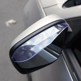 Calha De Espelho Retrovisor Protetor Para Chuva Par