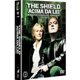 Dvd - The Shield: Acima Da Lei - 4ª Temporada - 4 Discos