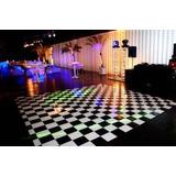 f85571bb26d44 Piso Xadrez 4x4m 16m² Pista De Dança Piso Quadriculado Dj