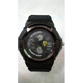 f282d6b8a00 Relogio Casio G Shock Ferrari - Relógios De Pulso no Mercado Livre ...
