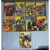 Wizard O Guia Dos Quadrinhos Coleção Globo 2 Ao 10