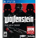 Wolfenstein The New Order Ps3 Digital Gcp