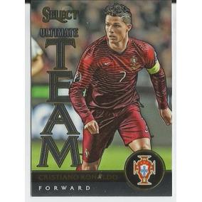 2015-16 Panini Select Soccer Ultimate Team Cristiano Ronaldo 5dd0e33cb7f71