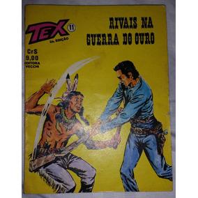 Gibi Tex Nº 11 - 2ª Edição Editora Vecchi 1978
