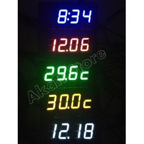 8489ea56df1 Multimedidor Termometro Relogio Voltimetro Digital - Acessórios para ...
