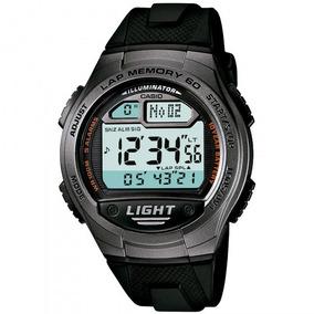 Relógio Casio W-734-1avdf Cronógrafo Esportivo - Refinado