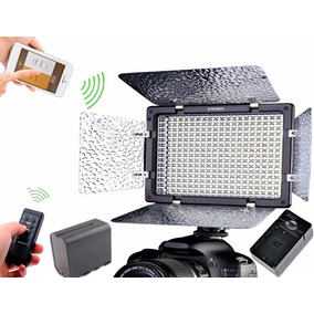 Lampara Yongnuo 300 Led Ver Iii Bluetooth 1 Temp + Bateria +