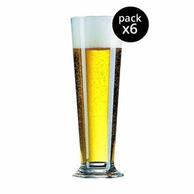 Vaso Linz 390cc Cerveza Arcoroc Vidrio Transparente X6u