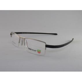 Tag 5069 Tag Heuer Armação Óculos De Grau Vermelha Com Prata ... dc66cbfaaf