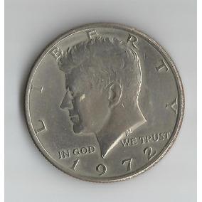 Moeda - United States - Half Dollar - 1972 - Km# Kennedy