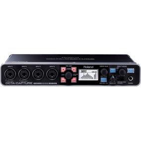 Interface Roland Octa Capture Ua-1010 Cheiro De Musica