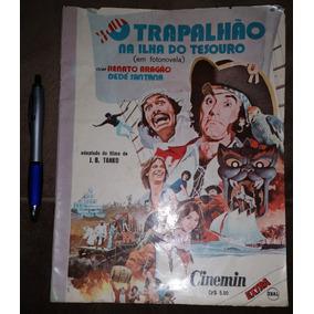 Cinemin O Trapalhão Na Ilha Do Tesouro Ebal 1975 Trapalhões
