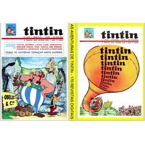 5 Dvds C+ De 300 Revistas Digitalizadas- As Aventur. Tintin