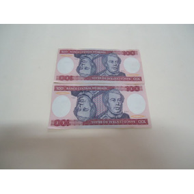 Cedula 100 Cruzeiros Duque De Caxias -seriada