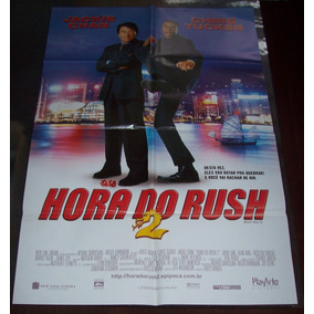 Cartaz/poster Cinema Filme Hora Do Rush 2 - Jackie Chan