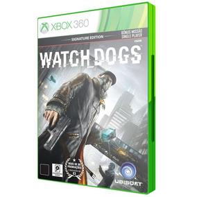 Watch Dogs Para Xbox 360 Lacrado Original Midia Fisica Dvd