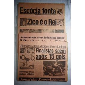 Jornal Dos Sports Copa 82 Futebol 1982