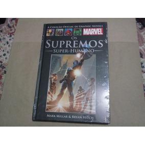 Os Supremos - Super Humano - Salvat Preta - Lacrado