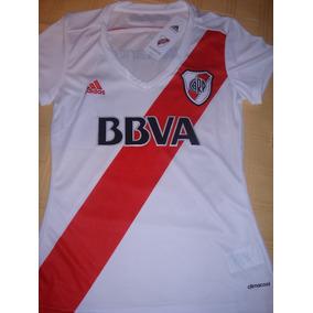Camiseta De River Mujer Original - Camisetas de Clubes Nacionales ... 1236fd5a0aa50