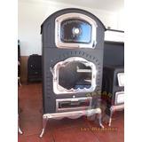 Chimenea De Leña Con Horno Cocedor Calefactor (envío Gratis)