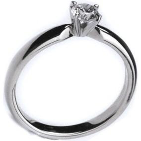 Anillo Compromiso Diamante 100% Natural 13pts. Vvs-1 Color F