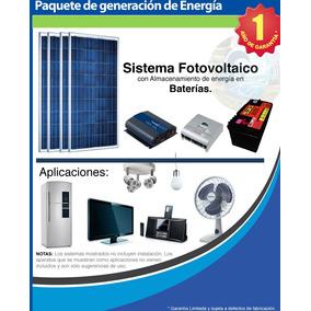 Kit 2 Panel Solar Fotovoltaico/ Planta Electrica Solar 2 Hgm