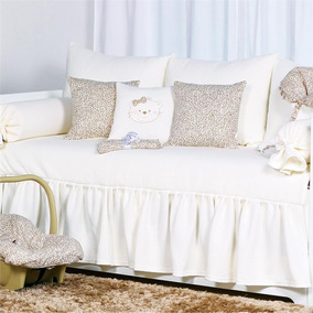 Kit Sofa Cama Sophia Bege
