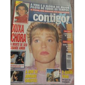 # Revista Contigo Xuxa Ayrton Senna Capa - No. 973 Maio 1994