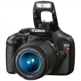 Câmera Digital Eos Rebel T3 Canon Kit Ef-s 18-55mm