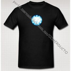 Playera Iron Man Tony Stark Reactor Arc Version 2 Talla Xxl