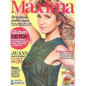 Revista Máxima: Leticia Spiller / Gluten Detox