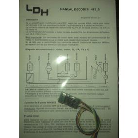 Ldh 4 Funciones Decoder Dcc System Dual-mode 4f1.5 - Ho