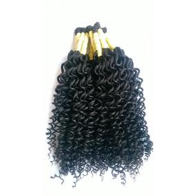 Cabelo Humano Cacheado A Vapor 60 Cm 50 Gramas P/mega Hair.