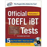Libro Official Toefl Ibt Tests With Audio Vol 1 Ingles - *sk