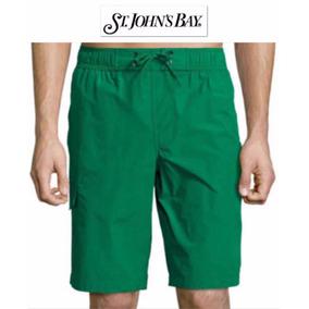 Shorts M Traje Bano Cargo Mediano St John
