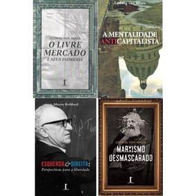 Kit 4 Livros - Mises E Rothbard