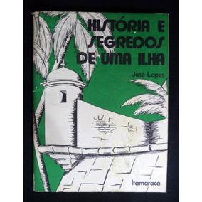 Folheto História E Segredos De Uma Ilha Itamaracá 1975