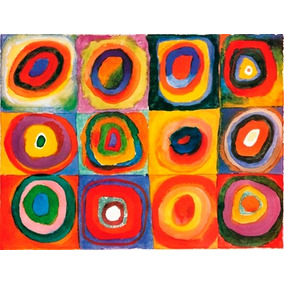 Reproducción En Lienzo (canvas) Importado, - W. Kandinsky