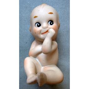 Antiguo Bebe De Porcelana Sellado