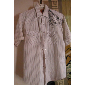 Camisa Fly Plains White Blanca Moda Fashion Hombre