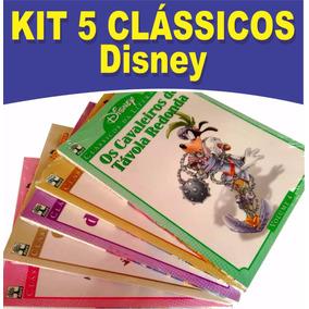Kit 5 Clássicos Da Literatura Disney 4,5,6,7e 8 Todos Novos