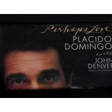 Lp Plácido Domingo & John Denver Perhaps Love