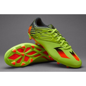 differently 04f74 a5474 Taco adidas Messi 15.3 Fg Verde Solar Slime Caballero