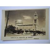 Foto Postal Antiga Igreja Coração De Jesus Fortaleza Ceará