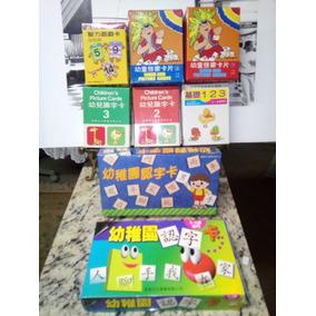16 Box Chinese Cards - Aprenda Caracteres Chineses Brincando