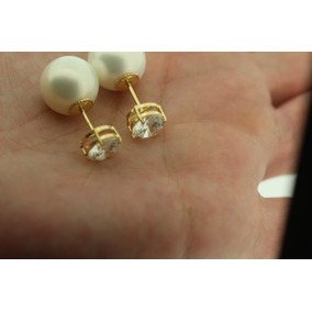 a9595b8310e Brinco Dior Inspired Tribal Frete Gratis Dourado Perola - Joias e ...