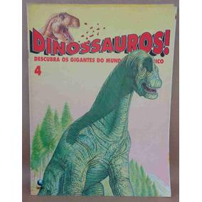 Dinossauros Fascículo No. 4 Ed. Globo 1993 24 Pgs.